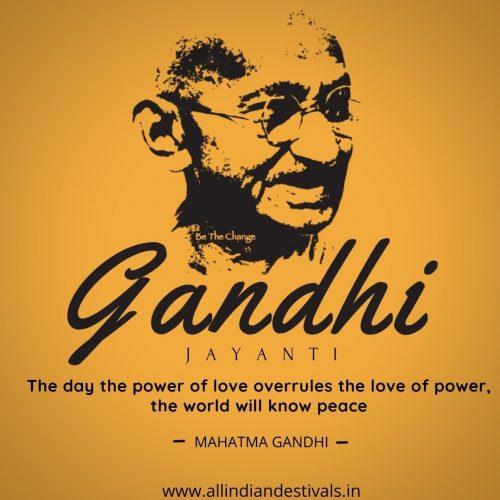 Gandhi Jayanti Wishes Images