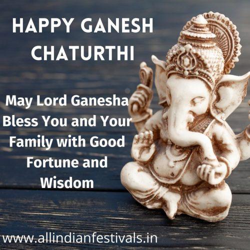 Ganesh Chaturthi Wishes Image 8